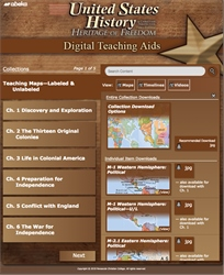 United States History: Heritage of Freedom Digital Teaching Aids