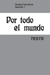 Spanish 1 Test Book