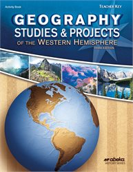 Geography Studies and Projects: Western Hemisphere Key