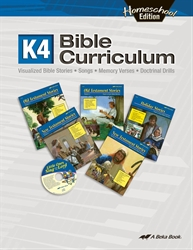 Homeschool K4 Bible Curriculum