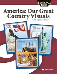 Homeschool America: Our Great Country Social Studies Visuals