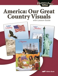 America: Our Great Country Lesson Guide (Replacement)