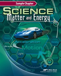 Science Matter and Energy Digital Textbook—SAMPLE