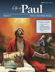 Life of Paul Series 1 Flash-a-Card Bible Stories