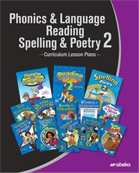 Phonics, Language, Reading, Spelling, Poetry 2 Curriculum