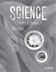 Science: Order and Design Quiz Key—Revised