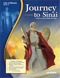 Journey to Sinai Flash-a-Card Bible Stories—New