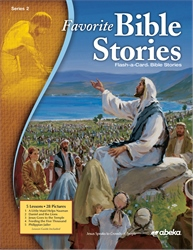 Favorite Bible Stories Series 2 Flash-a-Card Bible Stories