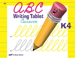 ABC Writing Tablet K4 Cursive