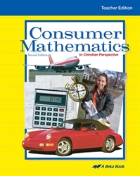 Consumer Mathematics Teacher Edition