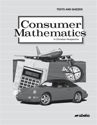 Consumer Mathematics Test and Quiz Book
