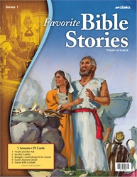 Favorite Bible Stories 1 Flash-a-Card—Revised