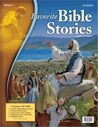 Favorite Bible Stories 2 Flash-a-Card—Revised