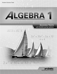 Algebra 1 Quiz and Test Book