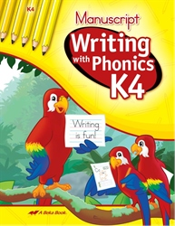 Writing with Phonics K4 Manuscript—Old Configurable Item
