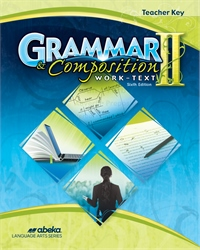 Grammar and Composition II Teacher Key—Revised