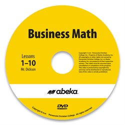 Business Math DVD Monthly Rental