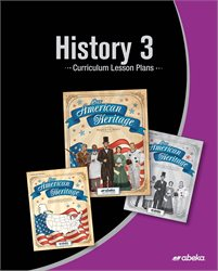 History 3 Curriculum Lesson Plans—Revised