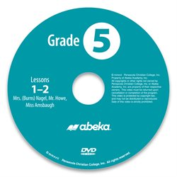 Grade 5 DVD Monthly Rental—Revised Course