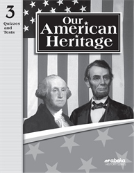Our American Heritage Quiz and Test Book