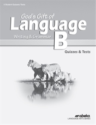 God's Gift of Language B Quiz and Test Book