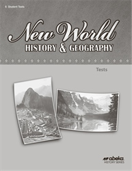 New World History and Geography Test Book