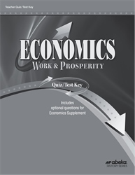 Economics Quiz and Test Key—Revised