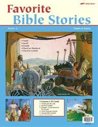 Favorite Bible Stories 1 Flash-a-Card
