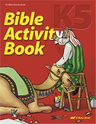 K5 Bible Activity Book
