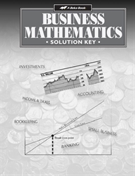 Business Mathematics Solution Key