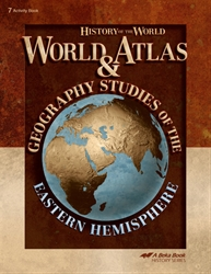 World Atlas and Geography Studies of the Eastern Hemisphere