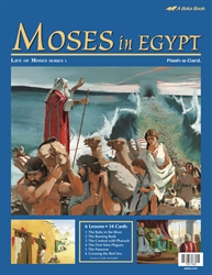 Moses in Egypt Flash-a-Card