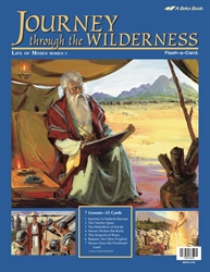 Journey Through the Wilderness Flash-a-Card