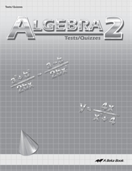Algebra 2 Test and Quiz Book