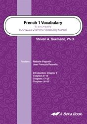 French 1 Vocabulary CD