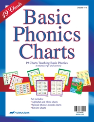 Abeka product information basic phonics charts