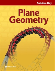 Plane Geometry Solution Key