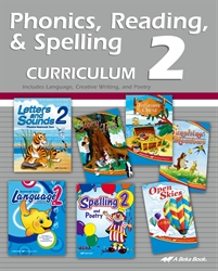Phonics, Reading, Spelling and Language 2 Curriculum