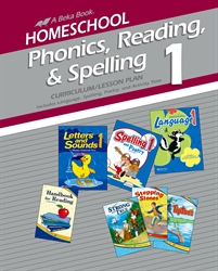 Homeschool Phonics, Reading, and Spelling 1 Curriculum