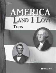 America: Land I Love Test Book