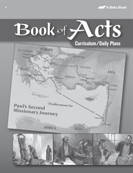 Book of Acts Curriculum