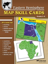 Eastern Hemisphere Map Skill Cards