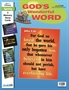 God's Wonderful Word Primary Memory Verse Visuals Thumbnail