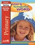 God's Wonderful Word Primary Activity Book Thumbnail