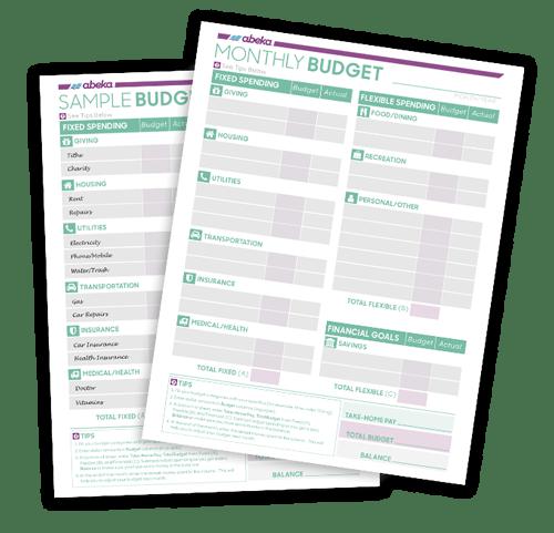 Budget Printable