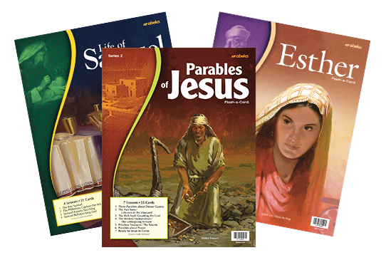 Bible flash-a-cards