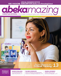 Abekamazing Christian School Winter 2019 Issue