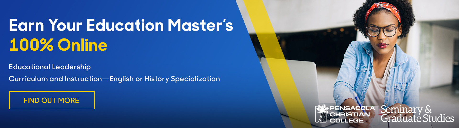 Earn your Education Master's 100% Online