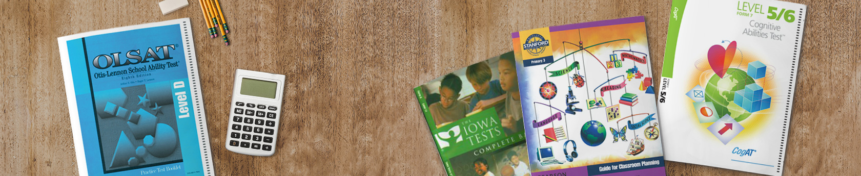 Standardized Test booklets
