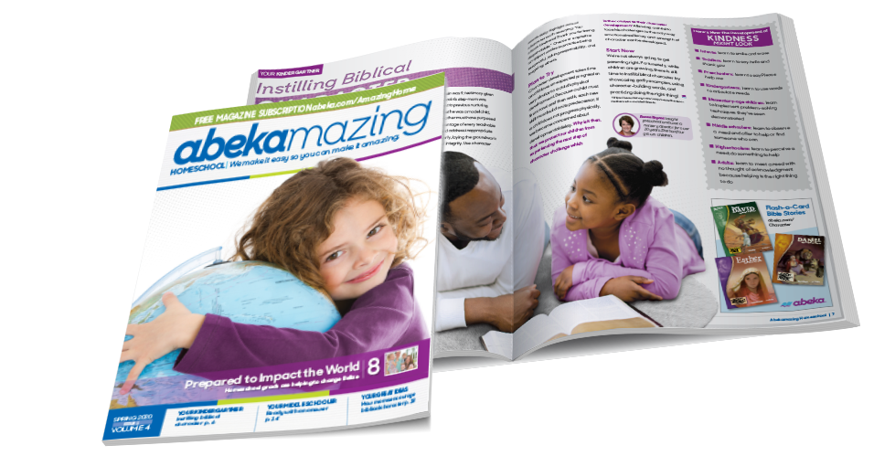 Abekamazing Homeschool Magazine